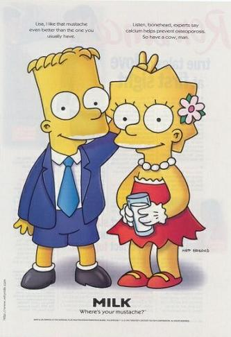 Bart e Lisa Simpson