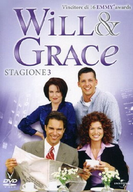 """Will & Grace - Stagione 3″"
