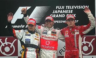F1, G.P. del Giappone - Sotto il diluvio vince Hamilton, disastroFerrari