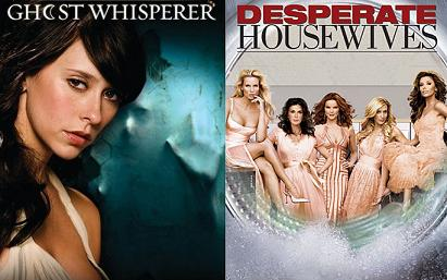 Ghost Whisperer e Desperate Housewives