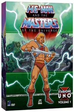 """He-Man and the Masters of the Universe - Stagione 1, volume 1″"