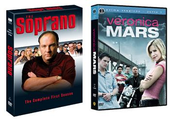 I Soprano e Veronica Mars in DVD