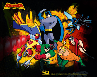 Batman the brave and the bold su Italia 1