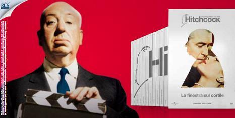 Edicola il grande cinema di alfred hitchcock con il corriere della sera antonio genna blog - Alfred hitchcock la finestra sul cortile ...