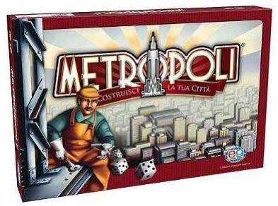 Giochi da tavolo metropoli costruisci la tua citt for Metropoli in italia