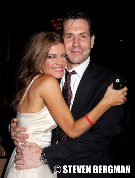 Michelle Stafford and Frank Valentini