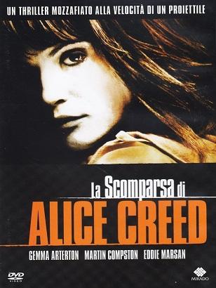 LaScomparsaDiAliceCreed-dvd