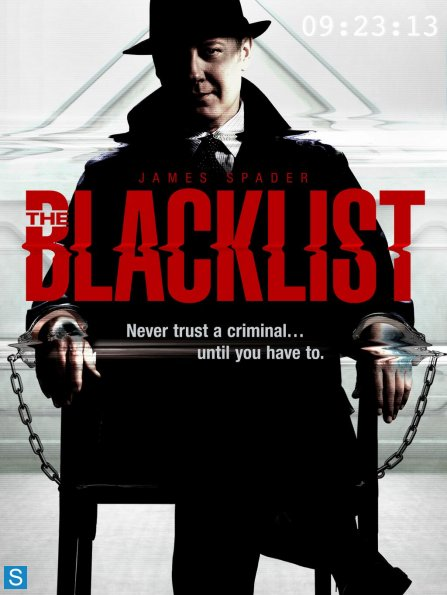 The Blacklist - New Promotional Poster - Never Trust a Criminal_595_slogo