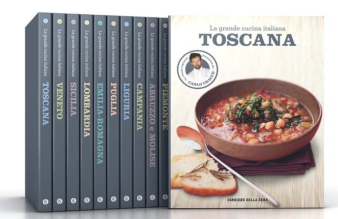 Edicola lo chef carlo cracco rivisita la grande cucina regionale in una collana per il - Corriere della sera cucina ...