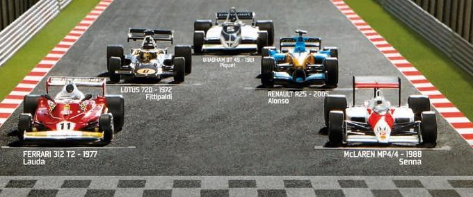 Edicola Con La Gazzetta Dello Sport La Collana Ufficiale Di Modellini Della Formula 1 Antonio Genna Blog