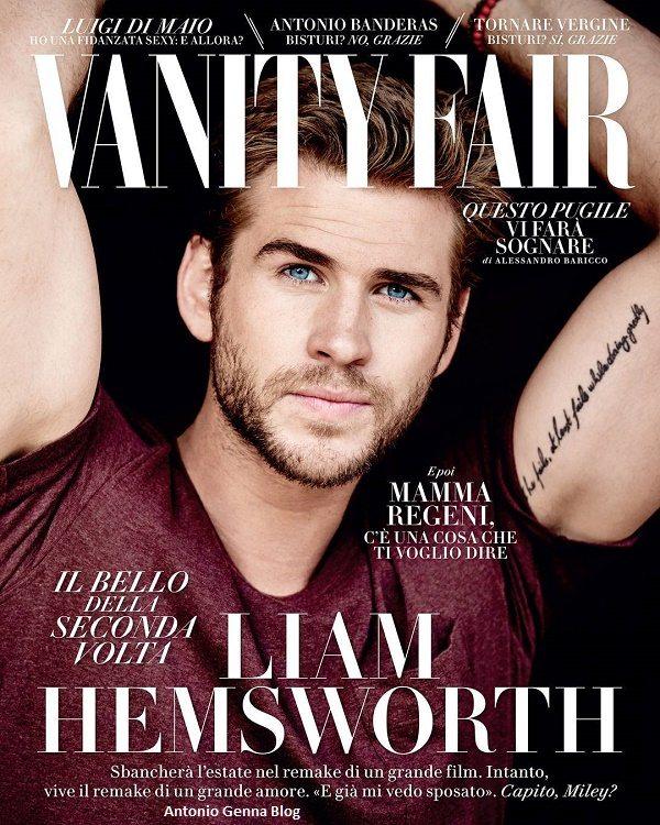 Liam Hemsworth che sta uscendo ora