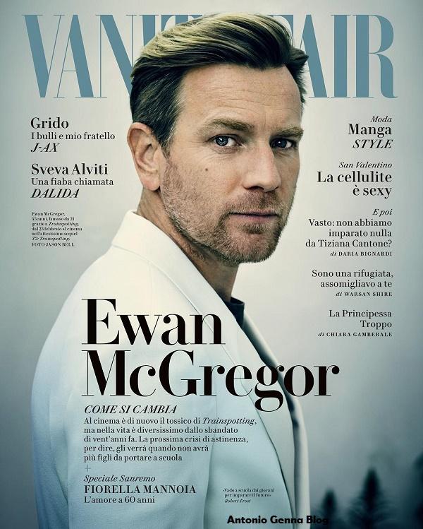 """Edicola – """"Vanity Fair"""" #6/2017: """"Ewan McGregor: Come si cambia ..."""