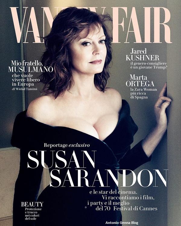 """Edicola – """"Vanity Fair"""" #21/2017: """"Susan Sarandon"""" Antonio Genna Blog"""
