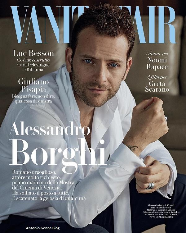 "Edicola – ""Vanity Fair"" #33/2017: ""Alessandro Borghi"" Antonio ..."