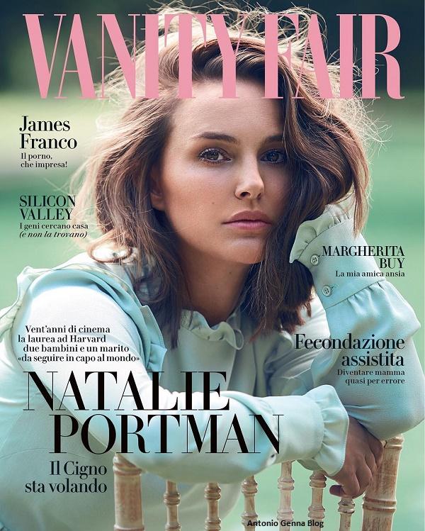"""Edicola – """"Vanity Fair"""" #39/2017: """"Natalie Portman – Il Cigno sta ..."""