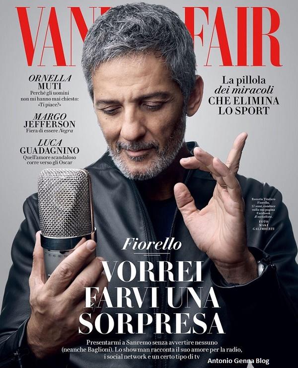 "Edicola – ""Vanity Fair"" #47/2017: ""Fiorello: Vorrei farvi una ..."