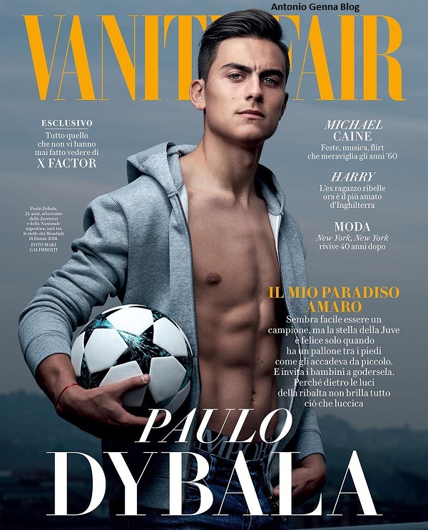 "Edicola – ""Vanity Fair"" #49/2017: ""Paulo Dybala"" Antonio ..."