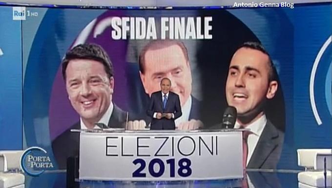Ieri e oggi in tv 03 03 2018 ascolti italiani di - Replica porta a porta di ieri ...