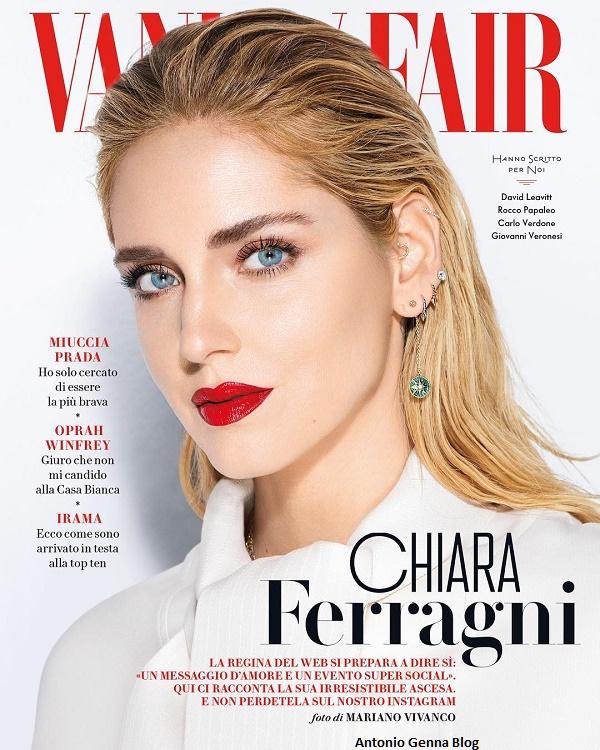 """Edicola – """"Vanity Fair"""" #31-32/2018: """"Chiara Ferragni ..."""