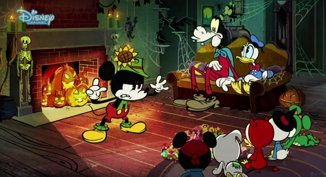 Il meraviglioso mondo di walt disney #44 u2013 halloween con topolino