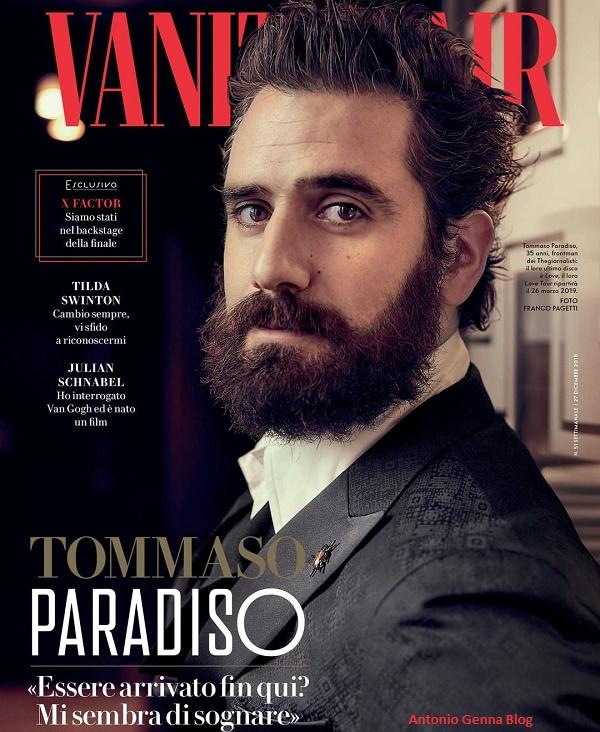 "Edicola – ""Vanity Fair"" #51/2018: ""Tommaso Paradiso"" Antonio ..."