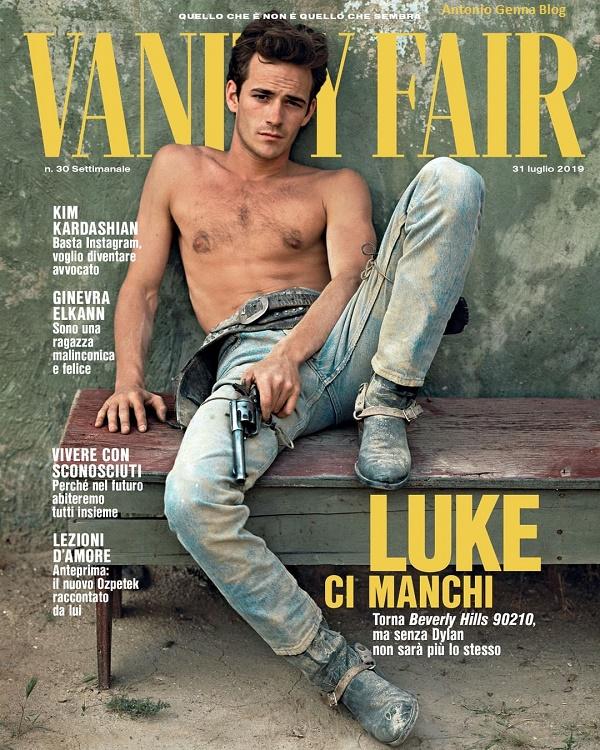 "Edicola – ""Vanity Fair"" #30/2019: ""Luke Perry"" Antonio Genna ..."