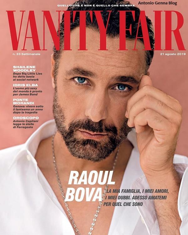 Raul Bova Calendario.Edicola Vanity Fair 33 2019 Raoul Bova Antonio Genna